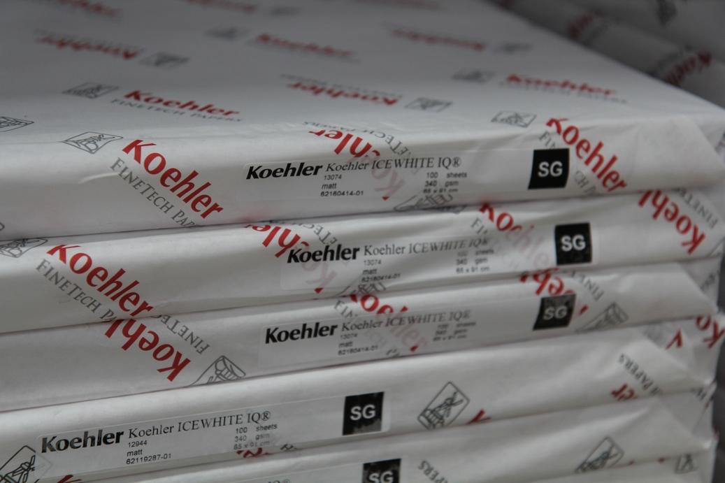 Ice White Iq 174 Stockman Paper